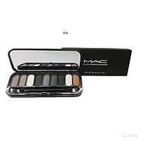 Тени MAC 9 color eyebrow powder MUS