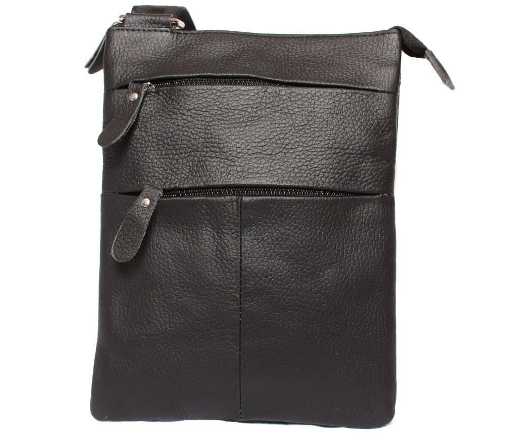 Мужская кожаная сумка через плечо 300137