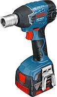 Аккумуляторный ударный гайковёрт Bosch GDS 14,4 V-LI L-BOXX (06019A1T06)