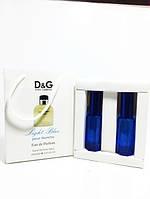 Мужская парфюмированная вода D&G Light Blue в подарочной упаковке 2х20 ml RHA