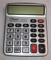 Канцтовары. Калькулятор Kenko 9123. Большой настольный калькулятор. Техника в офис, мелкая
