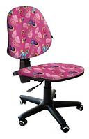 Кресло детское Актив Микровелюр Пони, розовый АМФ