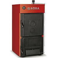 Твердотопливный котел Roda BC-08  чугун, дрова уголь