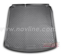Полиуретановый ковер в багажник VW Jetta комплектация Highline с 2011→2015→ / цвет:черный
