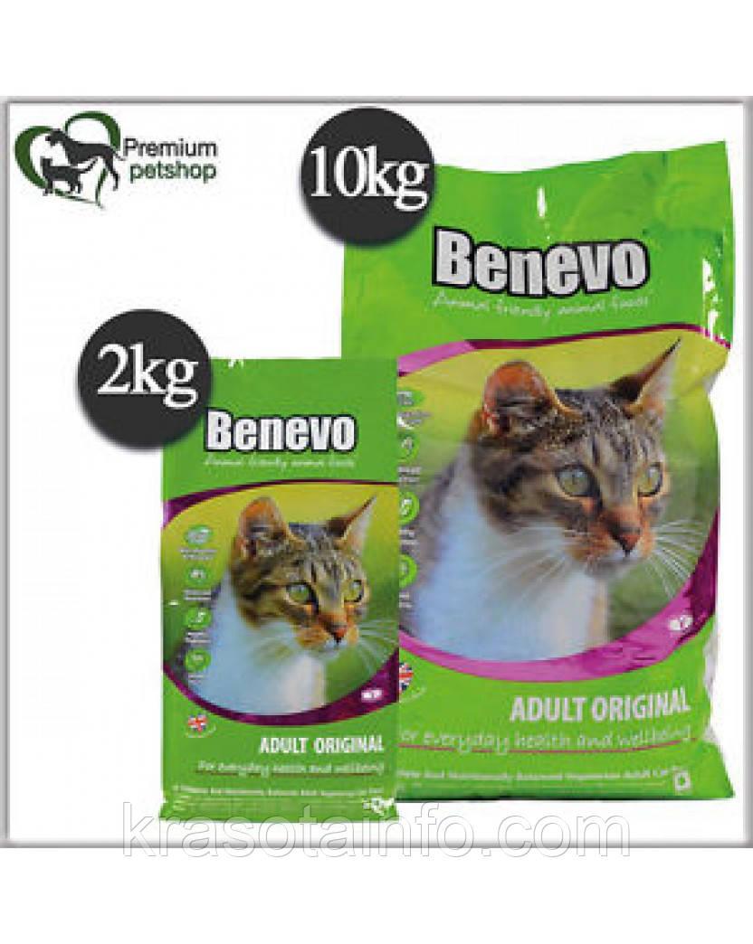 Benevo веганский корм для кошек 1 кг