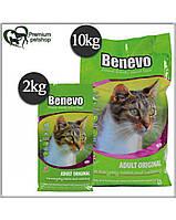 Benevo веганский корм для кошек 10 кг