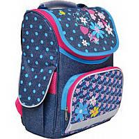Школьный каркасный ранец 1 Вересня ladybug Н-11 для девочки 34*26*14см (552769)