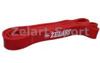 Резинка для подтягиваний (лента сопротивления) красн FI-3917-R POWER BANDS (рр 2080*28*4,5мм,мощ.S)