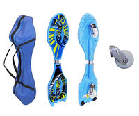 Скейтборд 2-х колесный RipStik (роллерсерф) SPIDERMAN, BATMAN SK-0330 (ABS,PU светящ,дека 80х21х3см)