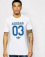 Мужская футболка Adidas с принтом 03
