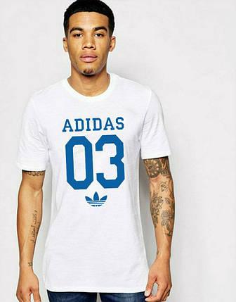 Мужская футболка Adidas с принтом 03, фото 2