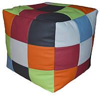 Бескаркасное Кресло-мешок пуф пуфик кубик-рубик, фото 1