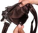 Мужская сумка из натуральной кожи через плечо 300132, фото 10