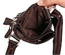 Мужская сумка из натуральной кожи через плечо 300132, фото 8