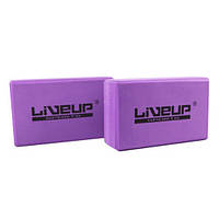 Блок для йоги LiveUp Eva Brick (LS3233A-p)