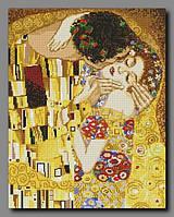 """Схема для полной вышивки бисером """"Поцелуй""""  (по мотивам картины Климпта)"""