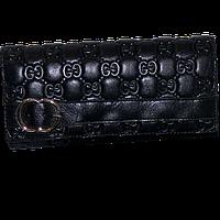 Кошелек женский Gucci (кожаный), G514-2 Черный, размер 17*8*3