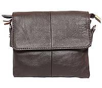 Горизонтальная кожаная сумка через плечо 300146, фото 1