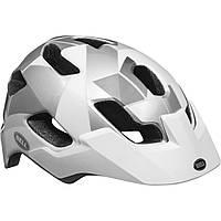 Велошлем Bell Stoker белый/серебристый Haze (GT)