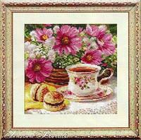 Полуденный чай  Набор для вышивки крестом канва 14 ст