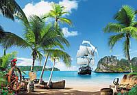 Фотообои *Пиратский остров* 196х280