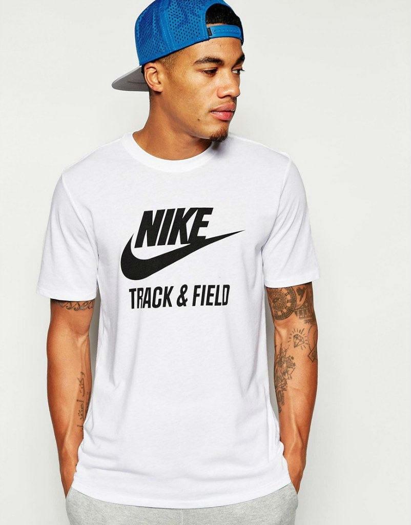 Мужская футболка Nike Трек & Филд