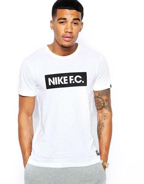 Мужская футболка Nike FC белая