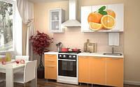 Фасады кухонные Апельсин, оранжевая кухня