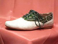 Обувь из конопли. Туфельки женские «Комфи — Зело»