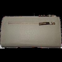 Кошелек женский Louis Vuitton (заменитель кожи), LV888-WHITE Белый, размер 23*12*2,5