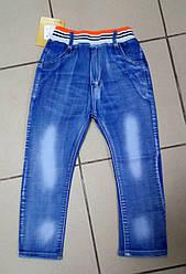 Детские джинсы подросток, рисунок на кармане