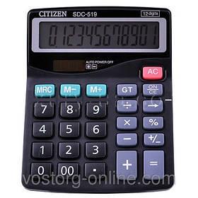 Калькулятор Citizen 519. Калькуляторы, большой экран, CE, бухгалтер-калькулятор