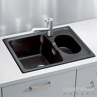 Кухонные мойки Alveus Мойка гранитная Alveus Abluo 70 POP-UP UG-95 чёрный металлик 1044914