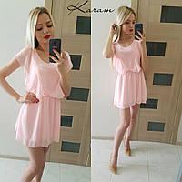 Легкое шифоновое платье п-40374
