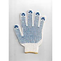 Перчатки рабочие трикотажные с ПВХ-покрытием