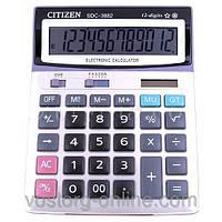 Офисная техника, мелкая, настольный калькулятор. Калькулятор Citizen 3882. калькулятор citizen
