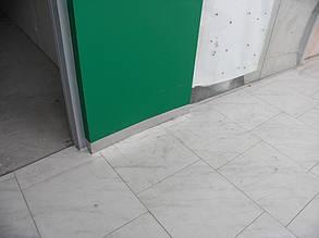 """Декоративный цокольный элемент внутренней колонны, примыкающий к полу. ТРЦ """"Проспект"""", г. Киев"""