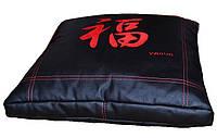 Бескаркасное Кресло-подушка пуф пуфик ТАТАМИ с вышивкой, фото 1
