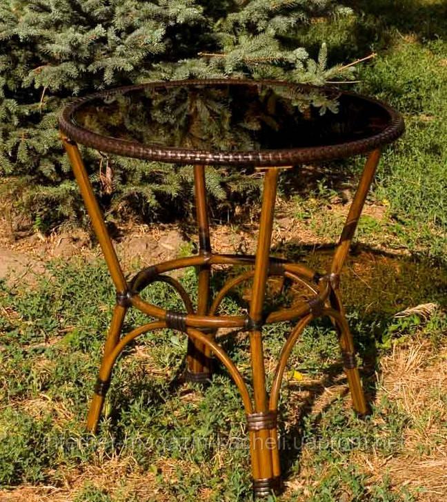 Стол из алюминия и искусственного ротанга DA ALT-7090