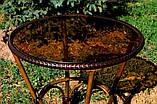 Стол из алюминия и искусственного ротанга DA ALT-7090, фото 2