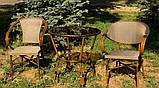 Стол из алюминия и искусственного ротанга DA ALT-7090, фото 3