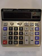 Калькулятор Sharp 2136. Настольный большой калькулятор. Бухгалтер-калькулятор.