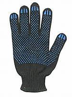 Перчатки рабочие трикотажные с ПВХ-покрытием (20)