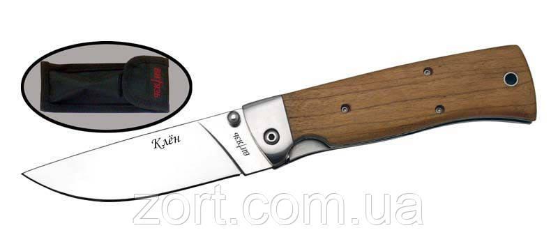 Нож складной, механический Клен, фото 2