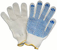 Перчатки рабочие трикотажные с ПВХ-покрытием (30)
