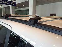 Багажник на интегрированные рейлинги Dacia Lodgy (2013-) черные
