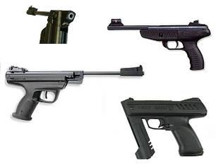 Пистолеты пружинно-поршневые