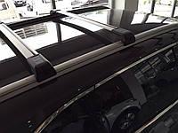 Багажник на интегрированные рейлинги BMW X3 (2011-) черные
