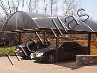 Автомобильные навесы из поликарбоната в Днепропетровске, Запорожье