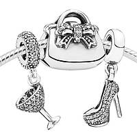 Подарочный набор шармов из серебра «Очарование» Pandora